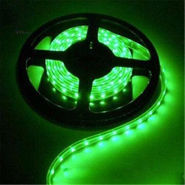 Branded LED Strip Light Waterproof Cuttable Green 5m Roll For Car, Home, Hotel - Green