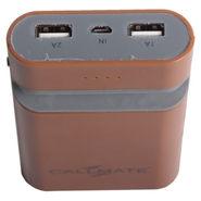 Callmate Power Bank Mobile Holder 7800 mAh - Brown