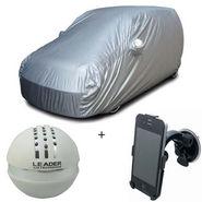 Combo of Maruti Suzuki 800 Car Body Cover + Car Perfume For Dashboard + Car Mobile Phone Holder