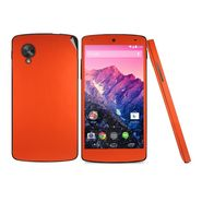 Snooky Mobile Skin Sticker For Lg Google Nexus 5 20718 - Orange