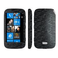 Snooky Mobile Skin Sticker For Nokia Lumia 510 20971 - Black
