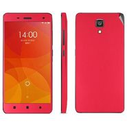 Snooky Mobile Skin Sticker For Xiaomi Mi4 20724 - Red