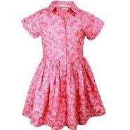 ShopperTree Pink Printed Dress