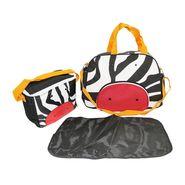 Wonderkids Zebra Face Print Baby Diaper Bag _CH-050-ZFDB