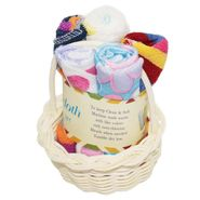 Wonderkids Multiprint Baby Basket Washcloth Set Of 5_WA-008-MPBWC