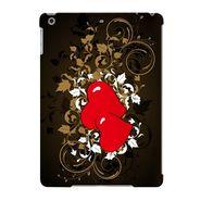 Snooky Digital Print Hard Back Case Cover For Apple iPad Air 23682 - Black