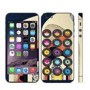 Snooky 28363 Digital Print Mobile Skin Sticker For Apple Iphone 5 - Multi