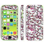 Snooky 28398 Digital Print Mobile Skin Sticker For Apple Iphone 5C - Multi