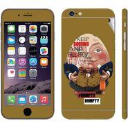 Snooky 28411 Digital Print Mobile Skin Sticker For Apple Iphone 6 - Multi