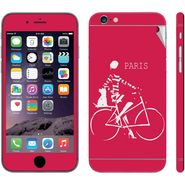 Snooky 28412 Digital Print Mobile Skin Sticker For Apple Iphone 6 - Pink