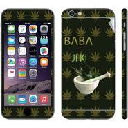 Snooky 28451 Digital Print Mobile Skin Sticker For Apple Iphone 6 Plus - Green