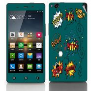 Snooky 27753 Digital Print Mobile Skin Sticker For Gionee Elife E6 - Green