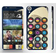 Snooky 28120 Digital Print Mobile Skin Sticker For HTC Desire 820 - Multi