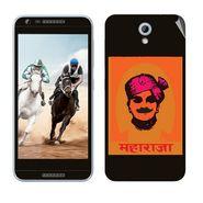 Snooky 28233 Digital Print Mobile Skin Sticker For HTC Desire 820 mini - Black