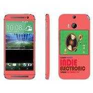 Snooky 28145 Digital Print Mobile Skin Sticker For HTC One M8 - Multi