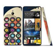 Snooky 28309 Digital Print Mobile Skin Sticker For HTC One mini - Multi