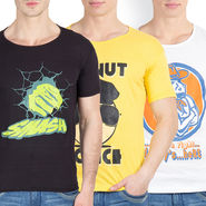 Pack of 3 Incynk Cotton T Shirts_Mhtc438