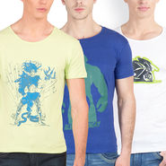 Pack of 3 Incynk Cotton T Shirts_Mhtc441