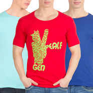 Pack of 3 Incynk Cotton T Shirts_Mhtc500