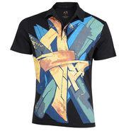 Branded Cotton Tshirt_1183blk - Black