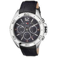 Tommy Hilfiger Round Dial Analog Watch_th1791029j - Black
