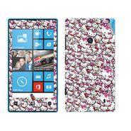 Snooky 38787 Digital Print Mobile Skin Sticker For Nokia Lumia 520 - Pink