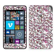 Snooky 38789 Digital Print Mobile Skin Sticker For Nokia Lumia 625 - Pink