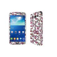Snooky 38805 Digital Print Mobile Skin Sticker For Samsung Galaxy Grand 2 - Pink