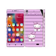 Snooky 38863 Digital Print Mobile Skin Sticker For Gionee Elife S5.1 - Purple