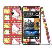 Snooky 39018 Digital Print Mobile Skin Sticker For HTC One mini - Pink