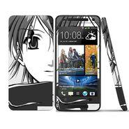 Snooky 39026 Digital Print Mobile Skin Sticker For HTC One mini - Gray