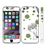 Snooky 39045 Digital Print Mobile Skin Sticker For Apple Iphone 5 - White