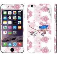 Snooky 39076 Digital Print Mobile Skin Sticker For Apple Iphone 6 - White