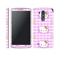 Snooky 39176 Digital Print Mobile Skin Sticker For LG G3 - Pink