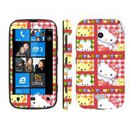 Snooky 39222 Digital Print Mobile Skin Sticker For Nokia Lumia 510 - Pink