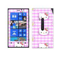 Snooky 39272 Digital Print Mobile Skin Sticker For Nokia Lumia 920 - Pink