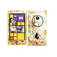 Snooky 39293 Digital Print Mobile Skin Sticker For Nokia Lumia 1020 - White