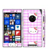 Snooky 39320 Digital Print Mobile Skin Sticker For Nokia Lumia 830 - Pink