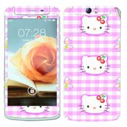 Snooky 39368 Digital Print Mobile Skin Sticker For OPPO N1 - Pink