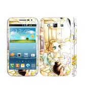 Snooky 39413 Digital Print Mobile Skin Sticker For Samsung Galaxy Grand Quattro 8552 - White