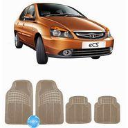 Digitru - Car Rubber Foot Mat eCS (Beige) _ DG20150062