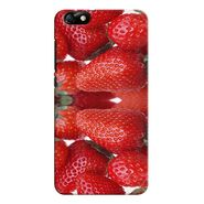 Snooky 37359 Digital Print Hard Back Case Cover For huawei honor 4x - Red