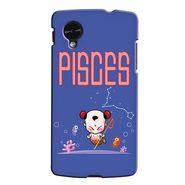 Snooky 35969 Digital Print Hard Back Case Cover For LG Google Nexus 5 - Purple