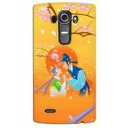 Snooky 37918 Digital Print Hard Back Case Cover For LG G4 - Orange