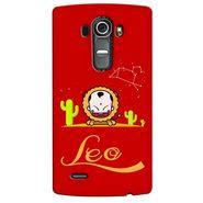 Snooky 37931 Digital Print Hard Back Case Cover For LG G4 - Red