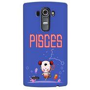 Snooky 37939 Digital Print Hard Back Case Cover For LG G4 - Purple