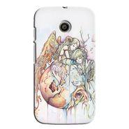 Snooky 35836 Digital Print Hard Back Case Cover For Motorola Moto E - Multicolour