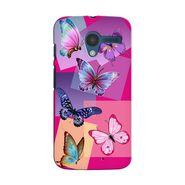 Snooky 35884 Digital Print Hard Back Case Cover For Motorola Moto X - Pink