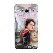 Snooky 35438 Digital Print Hard Back Case Cover For Samsung Galaxy Core 2 - Multicolour