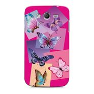 Snooky 35523 Digital Print Hard Back Case Cover For Samsung Galaxy Grand 2 - Pink